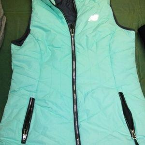 Teal NB puffer vest